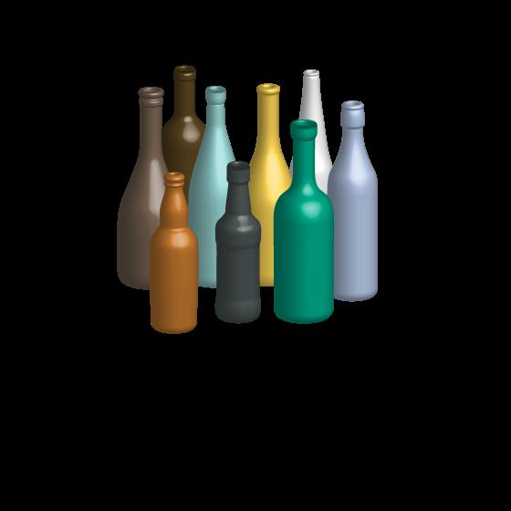 bottles mix